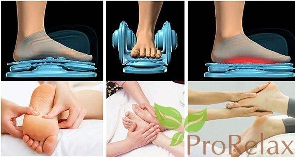 Аэро массаж в массажном кресле Стаил Style