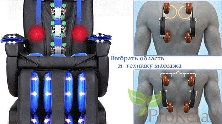 массажное кресло Стаил Style характеристики