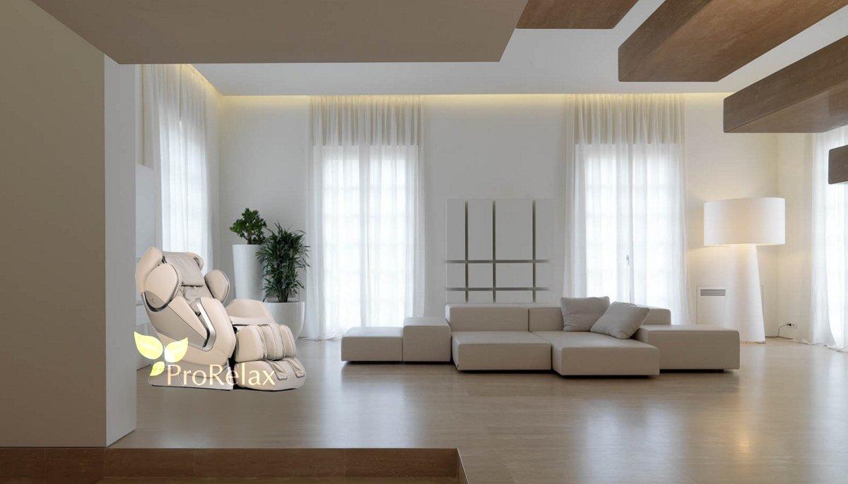 Массажное кресло Тибет в интерьере дома