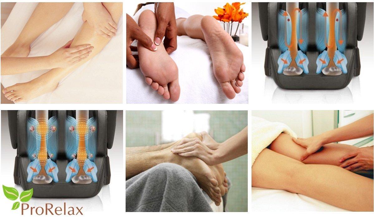 Массажное кресло Тибет массаж ног