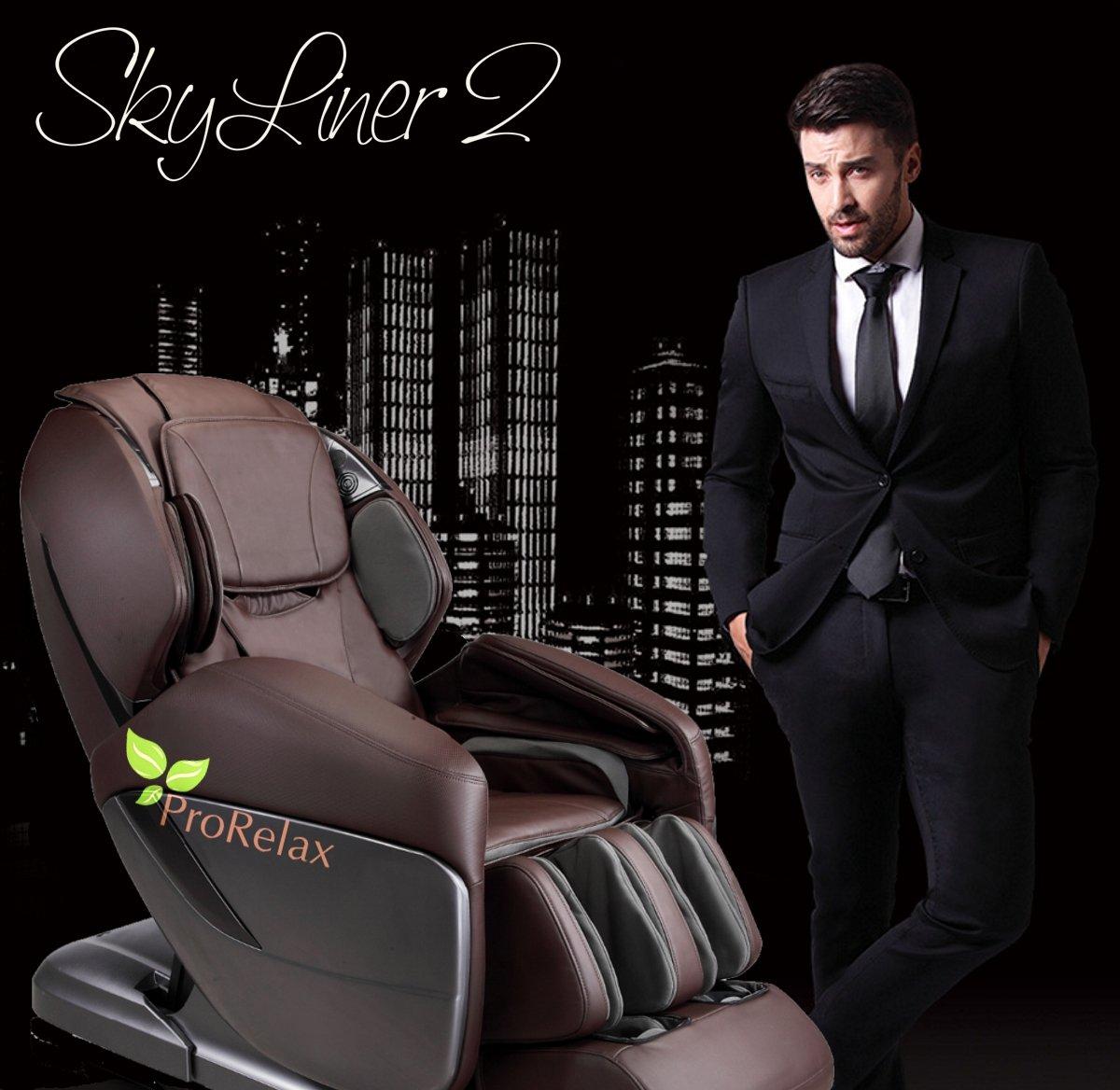 массажное кресло skyliner 2 в интерьере
